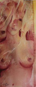 Bain de Vénus (58cm x 26cm) $400