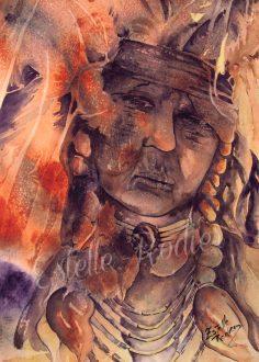 Le vieux Chaman (vendu)
